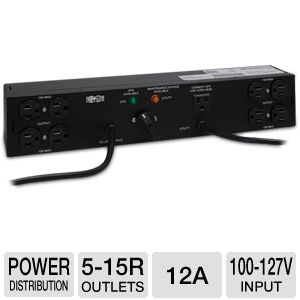 Tripp Lite PDUB15 Dual Source Power Distribution U