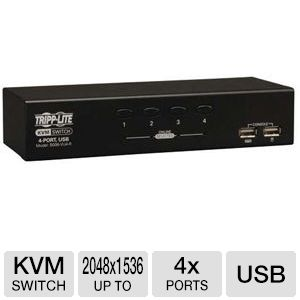 Tripp Lite B006-VU4-R 4-Port Desktop KVM Switch