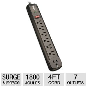 Trip Lite 7 Outlet Protect It! Surge Protector