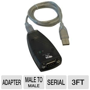 Tripp Lite Keyspan Hi-Speed USB to Serial Adapter