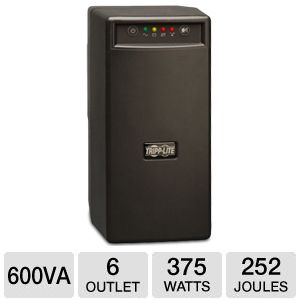 Tripp Lite 600VA Sine Wave Tower UPS