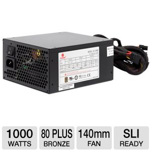 Coolmax ZU Series 1000W Power Supply