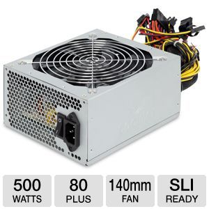 Coolmax 500W Power Supply