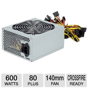 Coolmax ZX-600 600W Power Supply