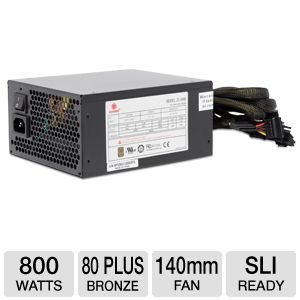 Coolmax ZU Series 800W Power Supply