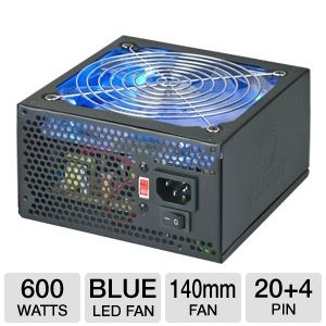 Coolmax VL-600B Power Supply