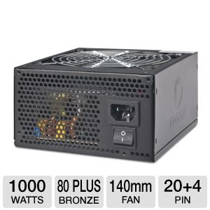 Coolmax 1000-Watt 80 Plus Power Supply