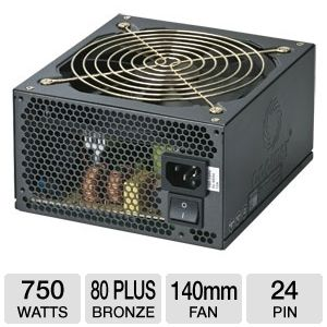 Coolmax 750W ZP Series 80 Plus Bronze PSU