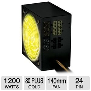 Coolmax 1200W Modular 80 Plus Gold PSU