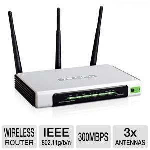 TP-Link 4 Port Wireless N Gigabit Router