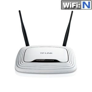 TP-Link 4 Port Wireless N Router
