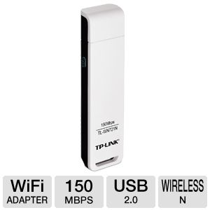 TP-Link 150Mbps Wireless N USB 2.0 Adapter