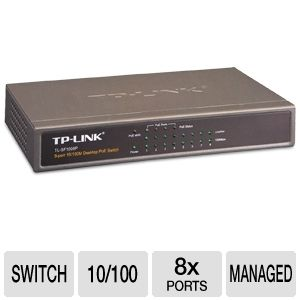 TP-Link 8-port 10/100M Desktop PoE Switch