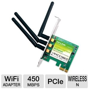 TP-LINK Dual Band Wireless N900 PCI Express Adapte