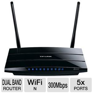 TP-LINK Wireless N600 Dual Band  Gigabit  Router