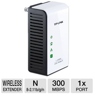 TP-LINK TL-WPA281 300Mbps Wireless N Powerline