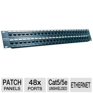 TRENDnet 48-port Cat5/5e Unshielded Patch Panel