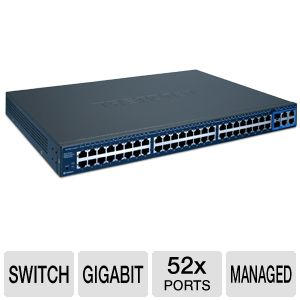 TRENDnet 52-Port Gigabit Web Smart Switch