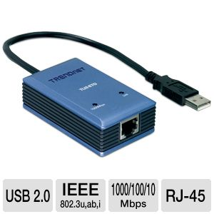 TRENDnet USB 2.0 Gigabit Adapter