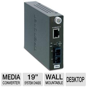 TRENDnet TFC-110S15 Fiber Converter
