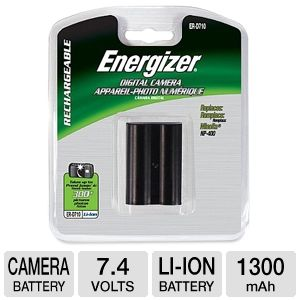 Energizer ER-D710 Lithium Ion Camera Battery