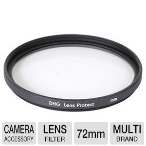 Sunpak DF-7037-UV 72mm Coated Ultra-Violet Filter