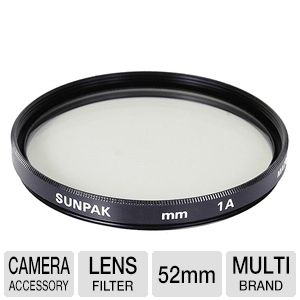 Sunpak CF-7006-SK 52mm Skylight Filter