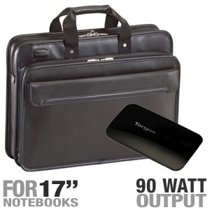Targus Leather Laptop Case & Charger