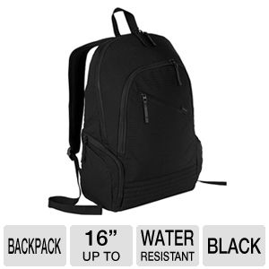 Targus Black Biker Backpack