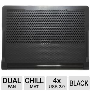 Targus Black Dual Fan Chill Mat