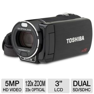 Toshiba CAMILEO X400 Full HD 1080p Camcorder 