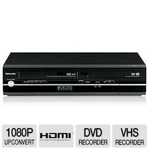 toshiba dvr7 dvd and vhs combination recorder hdmi with 1080p rh tigerdirect com toshiba dvr 650 manual toshiba dvd manuals download