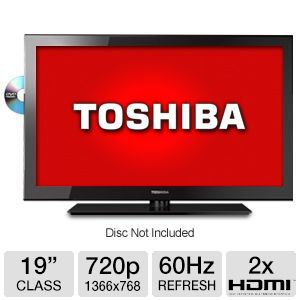 Toshiba 19&quot; Class LED HDTV/DVD Combo
