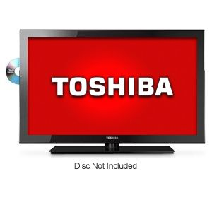 Toshiba 19&quot; 720p 60Hz LED Backlit HDTV/DVD REFURB