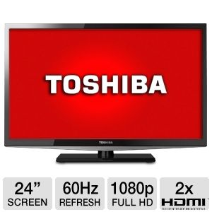 "Toshiba 24L4200 24"" 1080p  LED HDTV REFURB"