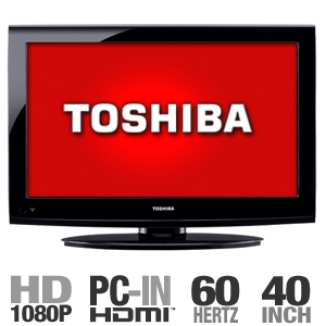 T24 4024 main03 am Toshiba 40FT1U 40 inch LCD HDTV   $500 + S&H + Coupon