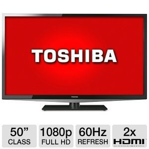 "Toshiba 50L2200U 50"" 1080p 60Hz LED HDTV"