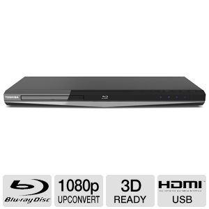 Toshiba BDX5300 3D Blu-ray Disc Player REFURB