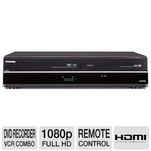 Toshiba DVR620 DVD Recorder/VCR Combo