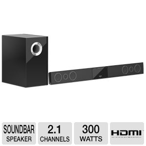Toshiba 2.1 Channel Sound Bar Speaker
