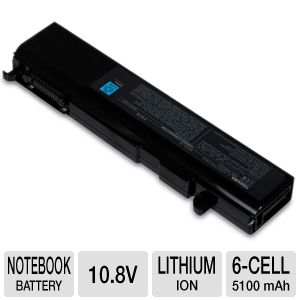 Toshiba Primary Battery Pack - notebook battery