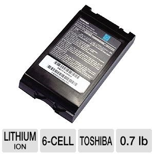 Toshiba Primary Li-Ion Laptop Battery
