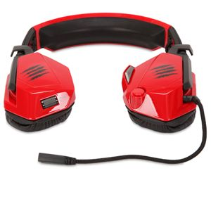 MAD CATZ F.R.E.Q.5 HEADSET FOR PC (RED)
