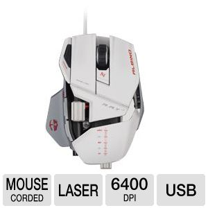 Mad Catz R.A.T. 7 Albino Edition Gaming Mouse