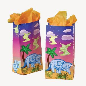 DINO PAPER BAGS