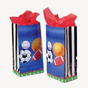 SPORTS PAPER BAGS