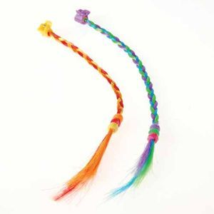 BRAIDED RAINBOW HAIR PIECES
