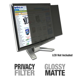 "3M PF24.0W9 Privacy Filter for 24"" Wide Displays"