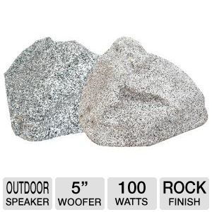 "TIC Corp TFS5-WG 5"" Rock Speakers (Granite)"