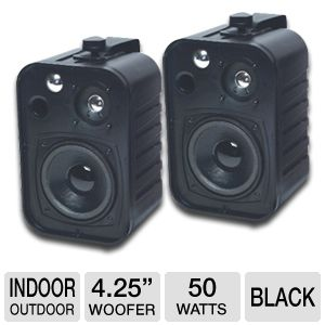 TIC Corporation ASP25-B Indoor/Outdoor Speakers